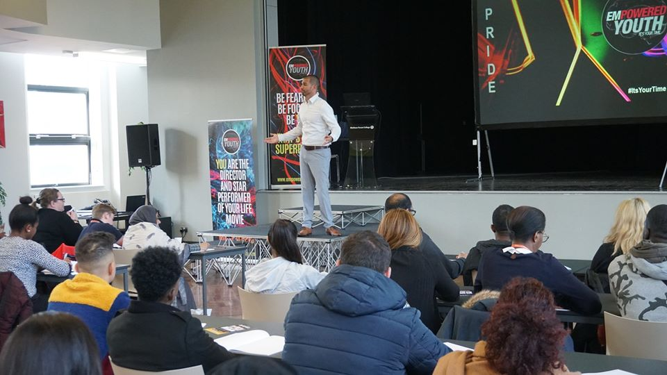 Launch of Empowered Youth Platform Praised by Students, College and Presenters
