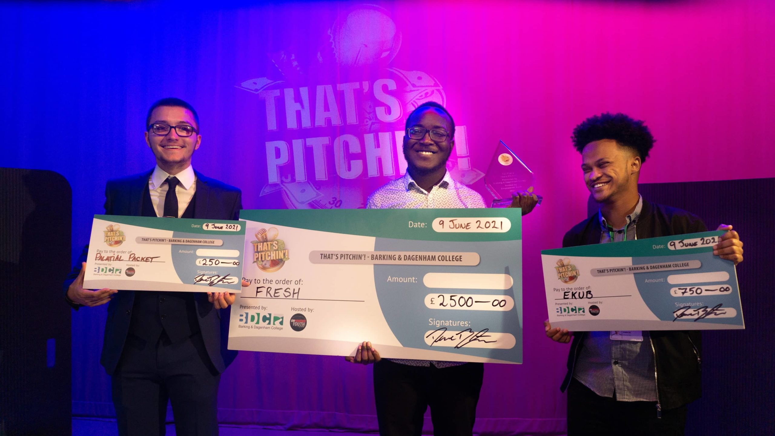 'Fresh' business idea wins £5000 in prizes